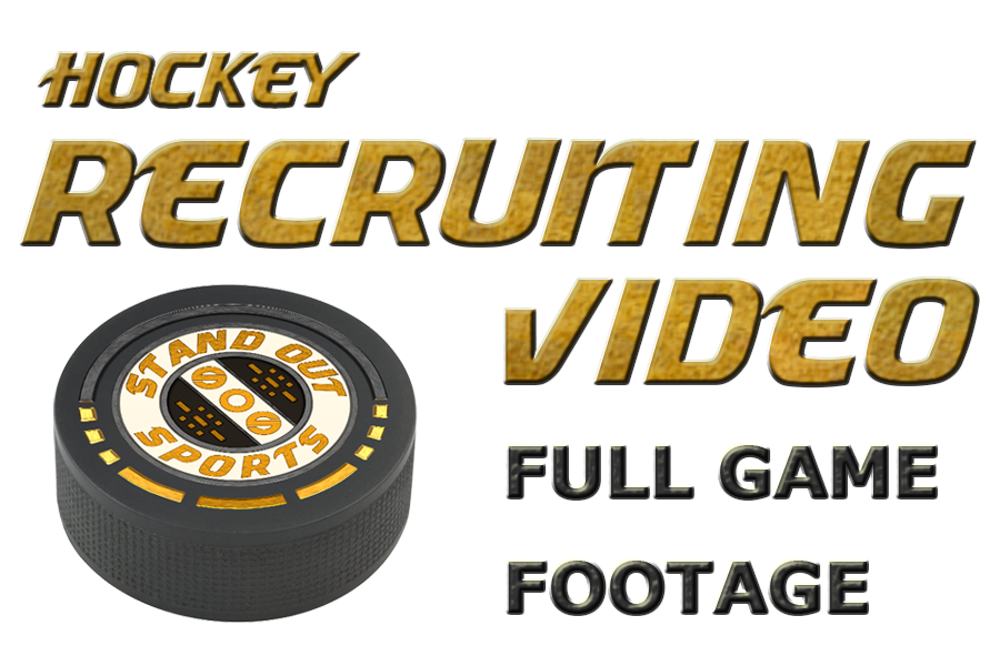 Hockey Recruiting Video - Full Games - Editing Only - Order Form