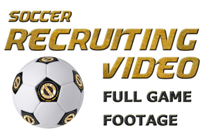 Soccer - Full Games - Editing Only - Recruiting Video Order Form