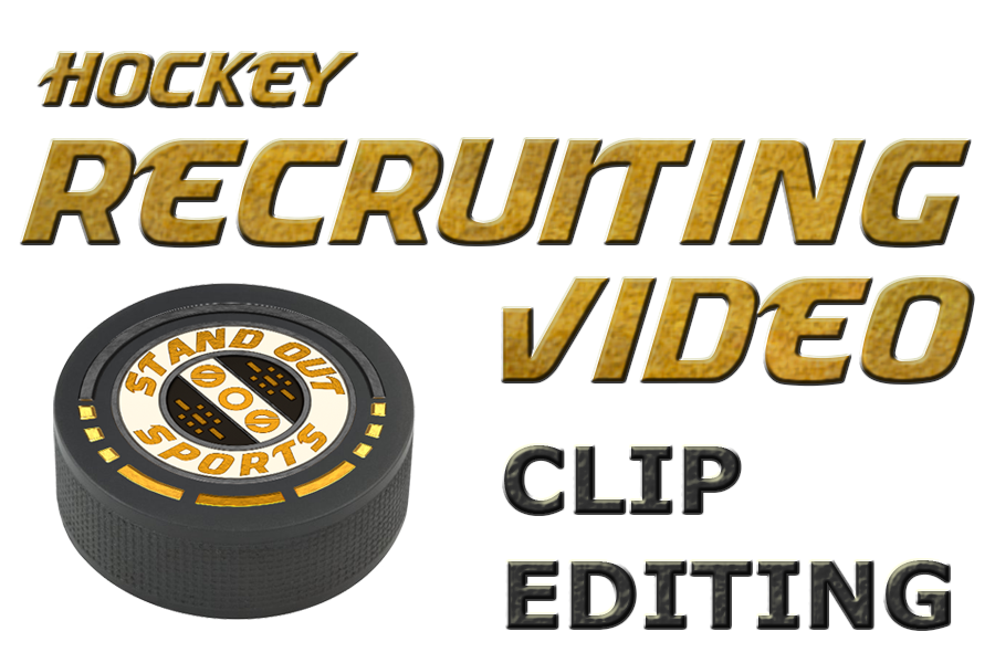 Hockey - Clips Only - Editing Only - Recruiting Video Order Form