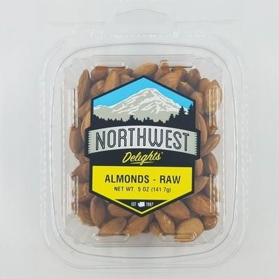 Almonds, Raw, 12/5 oz Case