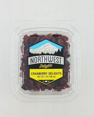 Cranberry Delights, 6/7 oz Case