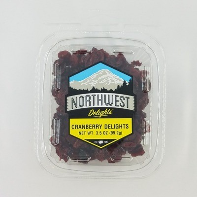 Cranberry Delights, 12/3.5 oz Case