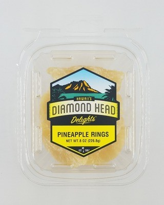 Pineapple Rings, 8 oz Tub