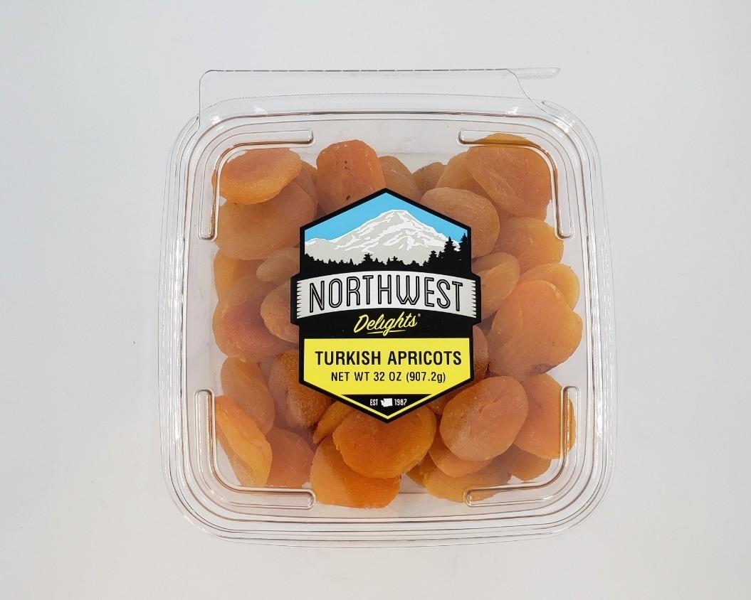 Turkish Apricots, 32 oz Mega Pack Tub