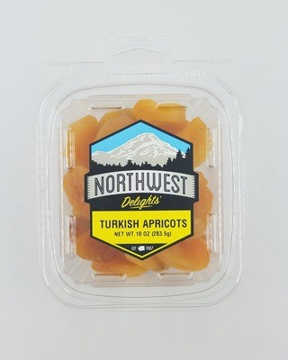 Turkish Apricots, 10 oz Tub