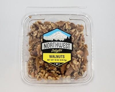 Walnuts, 18 oz Mega Pack Tub