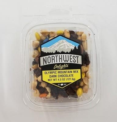 Olympic Mountain Mix, Dark Chocolate, 12/4.5 oz Case