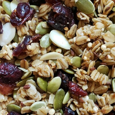 Honey Oat Cranberry Crunch - 10# Bulk