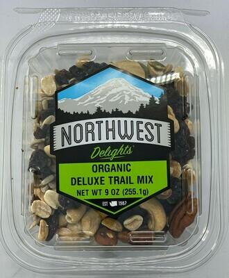 Organic Deluxe Trail Mix 6/9 oz Case