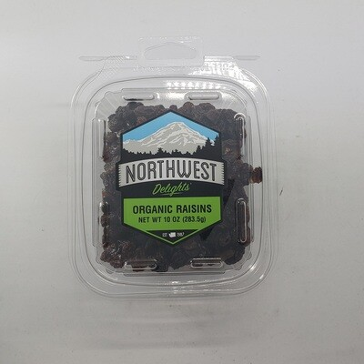 Organic Raisins 6/10 oz
