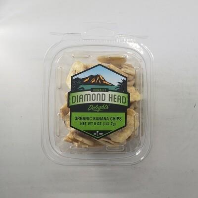 Organic Banana Chips 6/5 oz Case