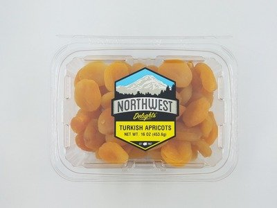 Turkish Apricots, 6/16 oz Case