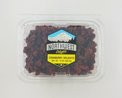 Cranberry Delights, 6/12 oz Case