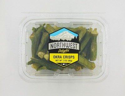 Okra Crisps, 6/3 oz Case