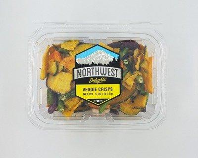 Veggie Crisps, 6/5 oz Case