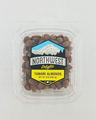 Tamari Almonds, 6/9 oz Case