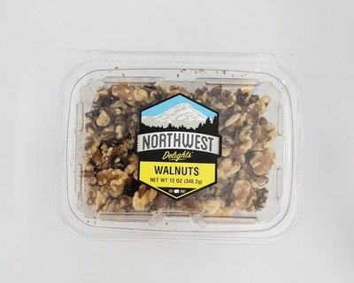 Walnuts,  6/12 oz case