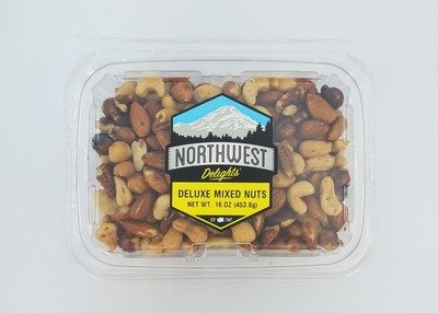 Deluxe Mixed Nuts, 6/16 oz Case