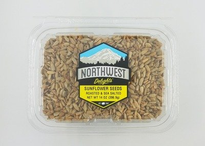 Sunflower Seeds, Roasted & Salted, 6/14 oz Case