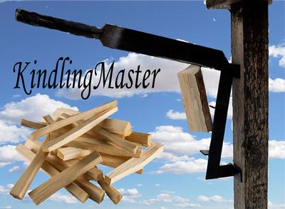 Kindling master kindling cutting machine