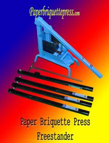 Paper Briquette Press (Free Standing)