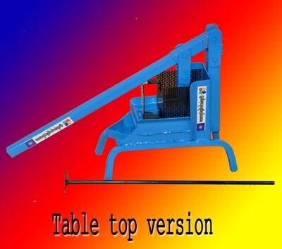 Paper Briquette Press (Table Top version)