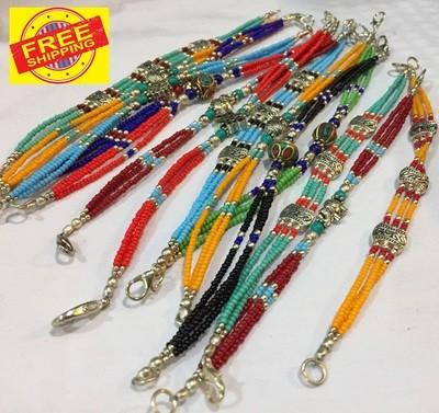 Bracelet (Colorful Triple Stranded)