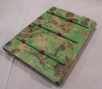 ネパリー手作りノートブック(NEPALI PAPER NOTE BOOK)