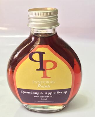 Quandong & Apple syrup 140ml