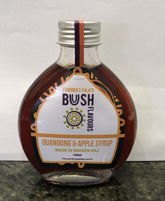 Quandong & Apple syrup 140ml