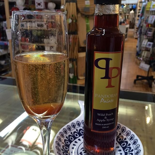 Quandong Native Peach and Apple Syrup 250ml