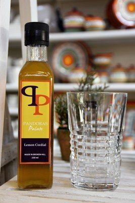 Old Fashioned Lemon Cordial Syrup 250ml