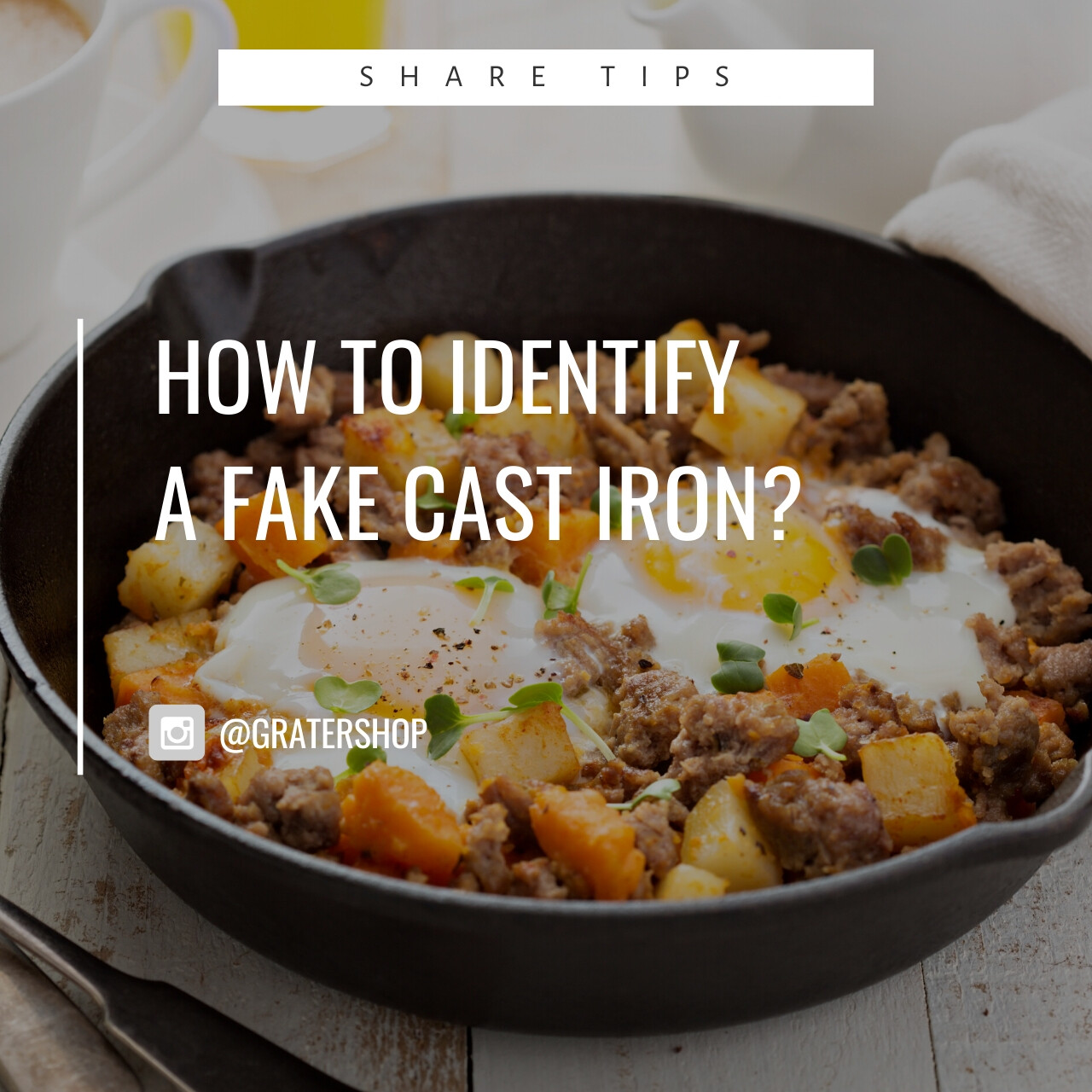 Blogs: How to Identify a Fake Cast Iron? [NOT FOR SALE]
