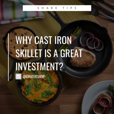 Blogs: Why Cast Iron Cookware is a Great Investment? [NOT FOR SALE]