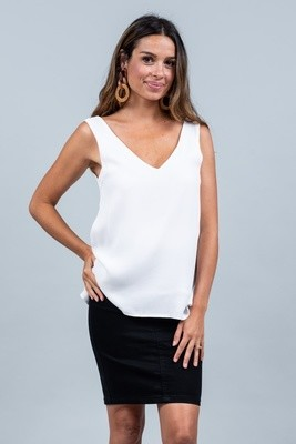The V Top - White