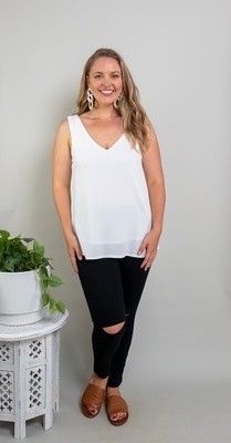The V Top - Ivory