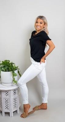 Beachcomber Jeans - White