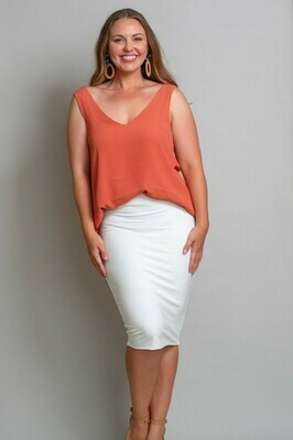 The V Top - Coral