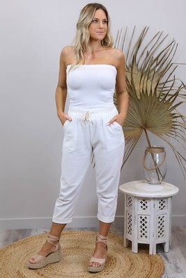 Rundles Cronulla Beach Pants - White