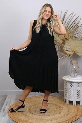 Bon Bon Maxi Dress - Black