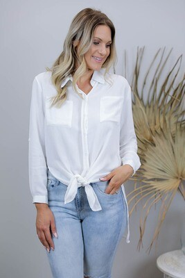 Boardwalk Cotton Must Have Shirt - White