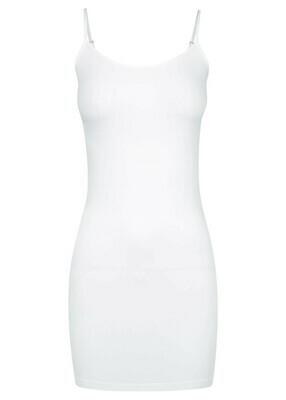 Long Singlet - White