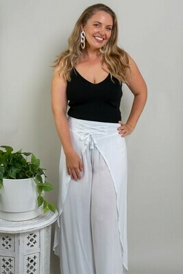 Nulla Beach Pants - White