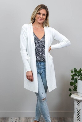 Billy GoGo Luxe Cardigan - White