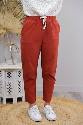 Rundles Cronulla Beach Pants - Rust