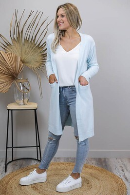 Billy GoGo Luxe Cardigan - Powder Blue