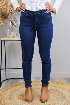 Cronulla Basic Jean - Dark Denim