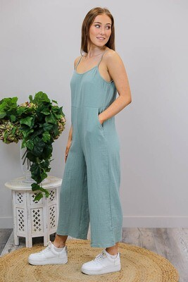 Savannah Jumpsuit - Khaki