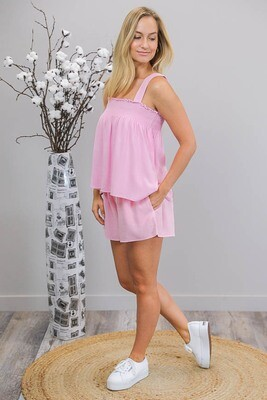 Pinkie Pie Shorts - Baby Pink