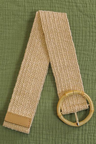 Belt - Light Natural/Style 4